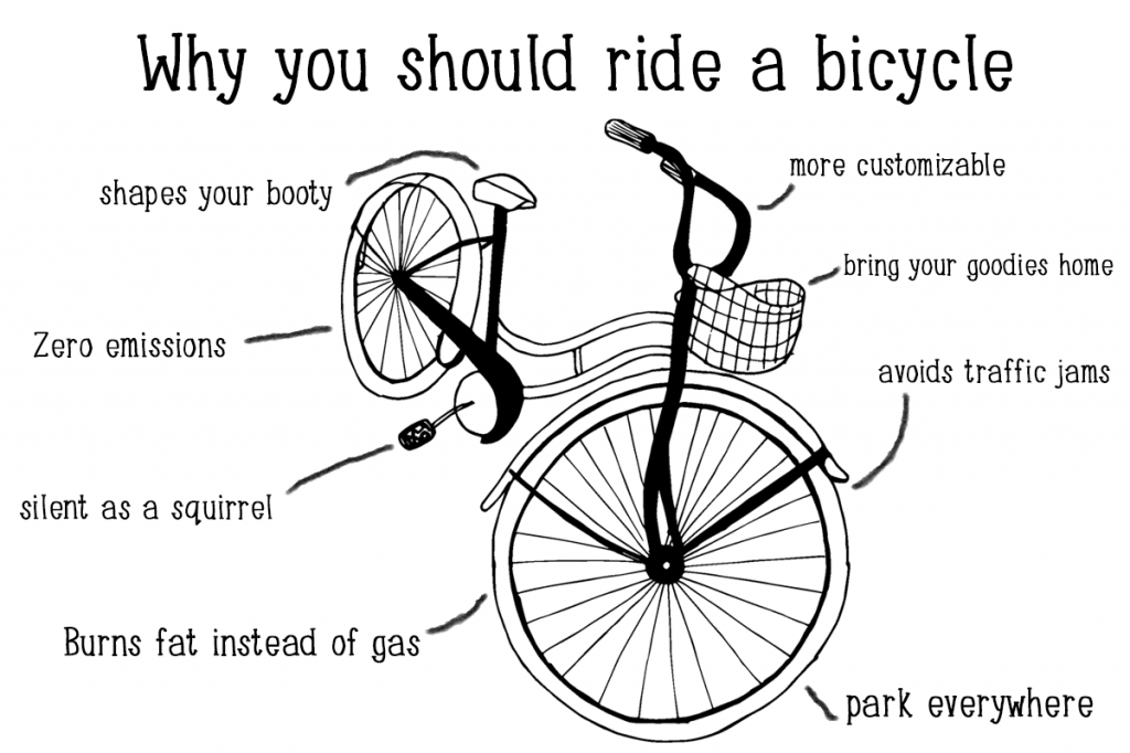 benefits of riding a bike