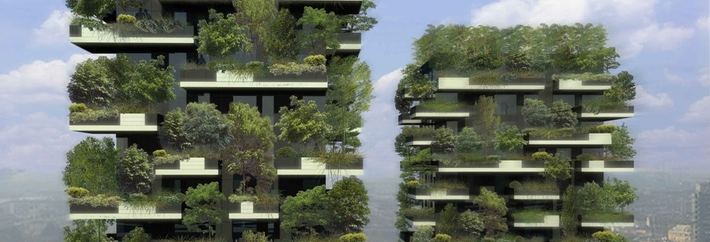 The green towers in Milan – The vertical Forest (Bosco Verticale)